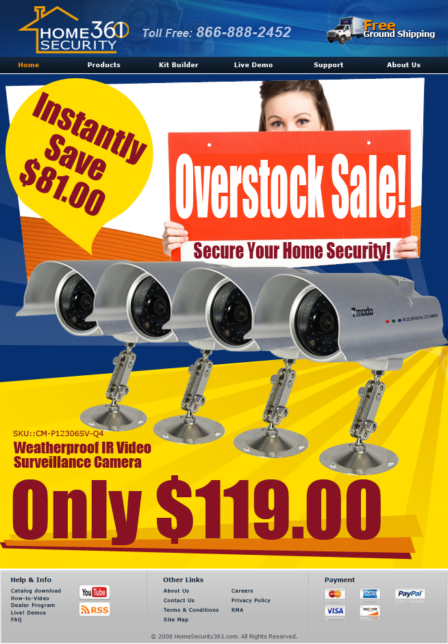 This Is Our Best Seller And One Of The Performance Infrared Security Cameras At An Affordable Price High Resolution Color Video During Day 80